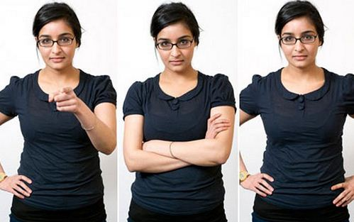 female body language secrets