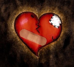 picture of broken heart