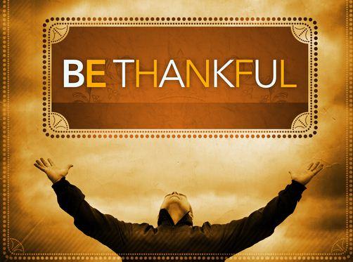 thankful photo