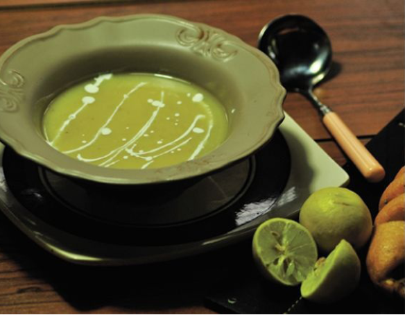 another lemon soup recipe