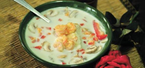 rice noodle pasta soup