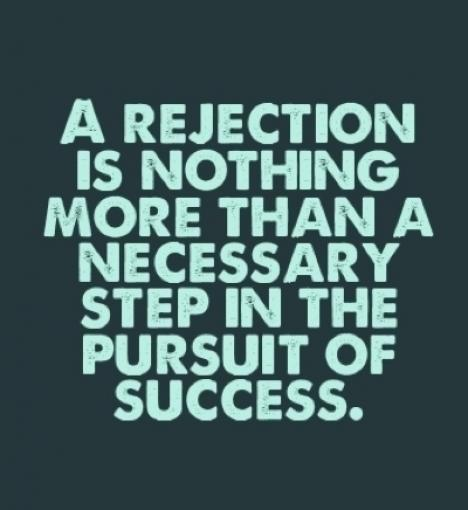 quote about rejection