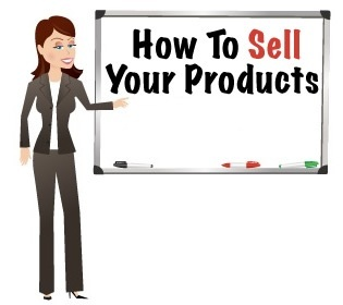 image for how to sell your products