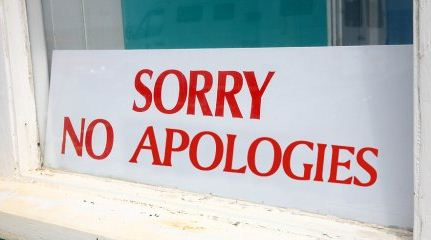 no sorry photo