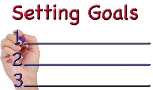 setting goals photo