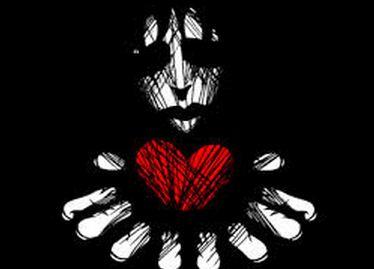 broken heart lady