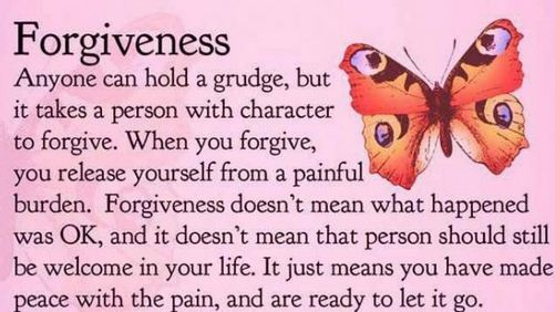 forgiving abusive relations