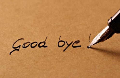 good bye photo