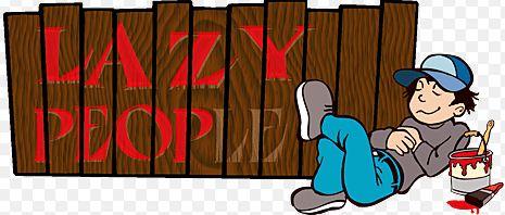 lazy people image