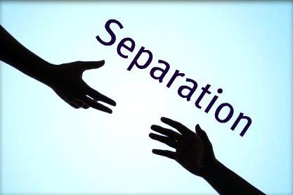 separating hands