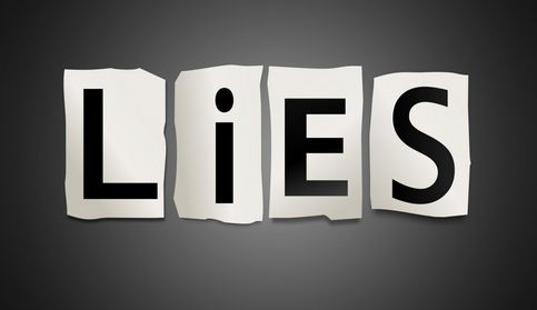 stop lieing