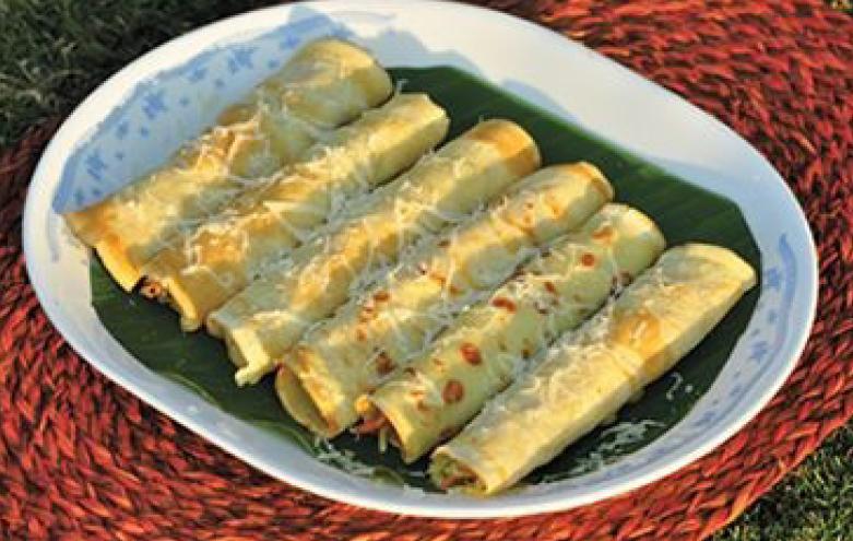 pencake rolls