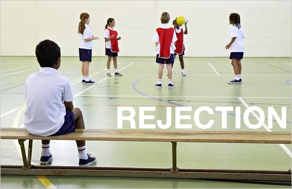 no more fear of rejection
