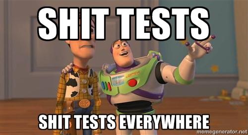 girls test all men